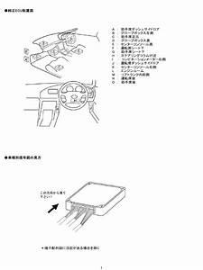Wiring Diagram Ecu Toyota Jdm