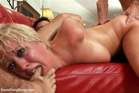 Sub Virgin Roughed Up With Vibrator From Lezdom
