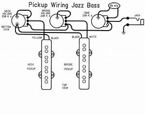Fender Geddy Lee Jazz Bass Wiring Question