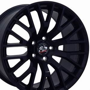 "18"" Wheel for Ford Mustang GT FR19C 18x9 Satin Black Rim"