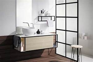 Salle De Bain Style Atelier : 4 cloisons de douche fa on verri re styles de bain ~ Teatrodelosmanantiales.com Idées de Décoration