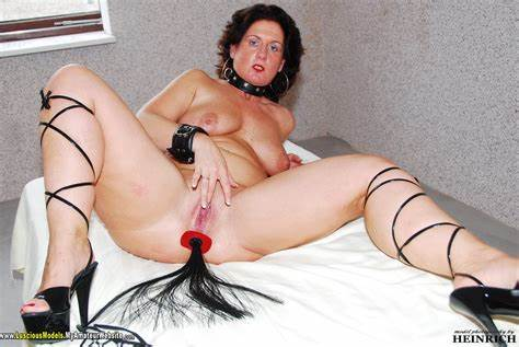Slim Titted Old Hooker Playing With Herself