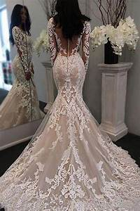 Fabulous Tulle Scoop Neckline Mermaid Wedding Dress With