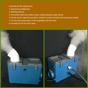 Industrial Mist Machine Humidifier Water Tank Ultrasonic