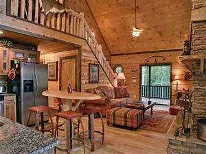 Inside, A, Small, Log, Cabins, Small, Log, Cabin, Interior, Design