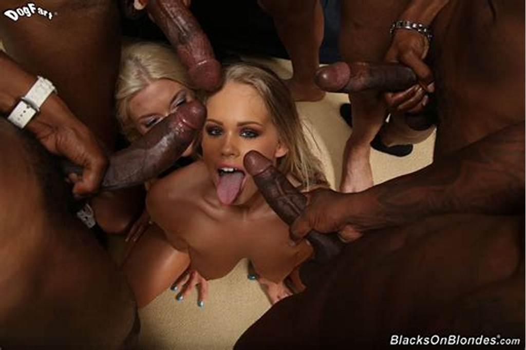 #Extreme #Interracial #Gangbang #Featuring #Britney #Young #And