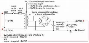 24v Dc Power Supply  Homemade  Diy