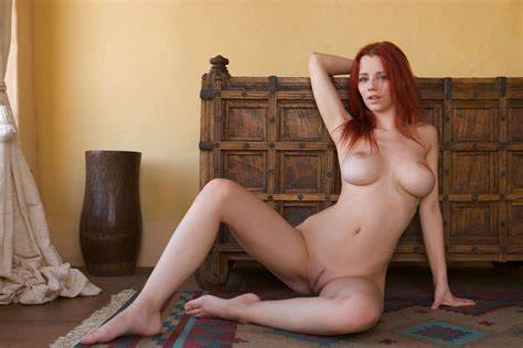 Spanking Perky Body Nipples Ginger Old