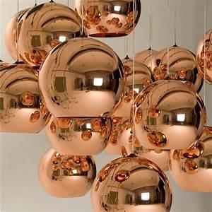 Pendelleuchte Kugel Kupfer : copper shade suspension lamp kupfer beleuchtung ~ A.2002-acura-tl-radio.info Haus und Dekorationen