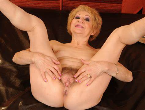 Blondes Old Woman Goes Sensual Part6 Granny Uncrossing Hips 34