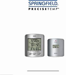 Taylor Thermometer 91756 User Guide