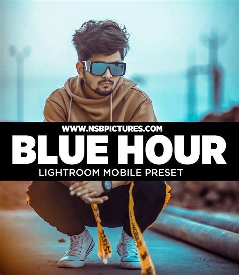 This aesthetic is easy to spot because of its usually bold elements. blue hour lightroom mobile preset free download dng ...