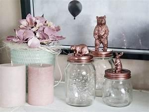 Objet Vintage Deco : d tourner un bocal vintage en objet d co ~ Teatrodelosmanantiales.com Idées de Décoration
