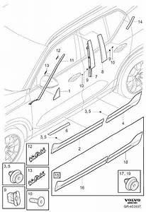 Volvo Xc40 Clip  Trim  Compartment  Interior