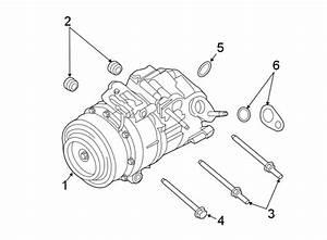 Lincoln Mkx Seal  Tube  Ring  Kit  Hose