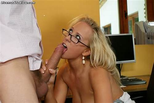 Carla Cox Working Gently #Carla #Cox #Wearing #Glasses #At #Work #Getting #Fucked #With #A