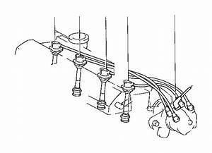 Toyota Camry Cord  Spark Plug Resistive  No  4  Sumitomo