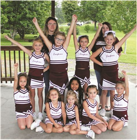 cheerleading longhorn style  youth league  high