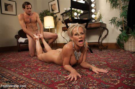 Spunky Interracial Party And Foot Mistress