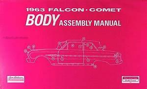 1963 Ford Falcon  U0026 Ranchero Wiring Diagram Manual Reprint
