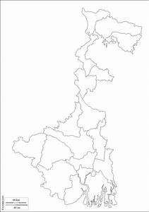 West Bengal   Free Map  Free Blank Map  Free Outline Map