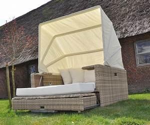 Lounge Liege Garten : beach lounge garten polyrattan liege sonneninsel liegeinsel domus ventures wheat ebay ~ Watch28wear.com Haus und Dekorationen