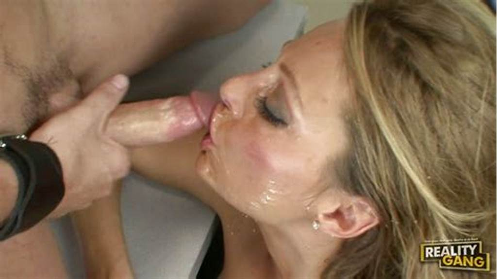 #Horny #Milf #Brenda #James #Gets #Her #Face #Sprayed #With #Warm