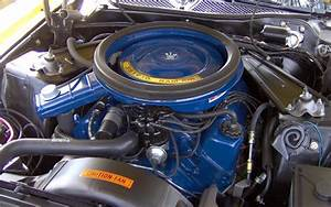1973 Ford Mustang Mach 1 351 Ram Air Engine