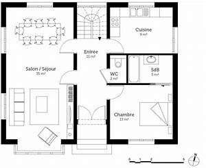 Plan Maison U : plan maison anglaise ooreka ~ Dallasstarsshop.com Idées de Décoration