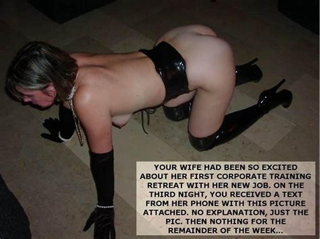 #Submissive #Wife #Boss #Caption