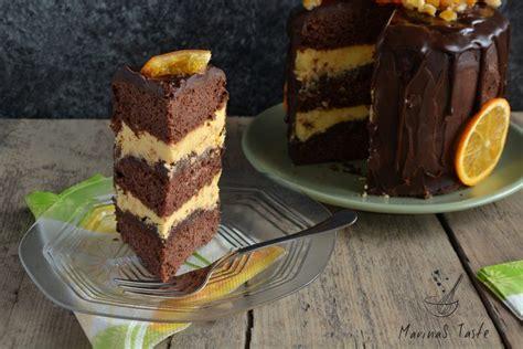 Dve pečene kore možete podeliti i dobiti četiri kore. Posna čoko oranž torta | Torte, Food, Torte cake