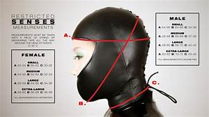 Etsy Size Chart Leather Open Mouth Hood Restricted Senses