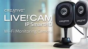 How To Set Up Your Creative Live  Cam Ip Smarthd Wi