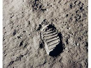 NASA - One of the first footprints on the moon