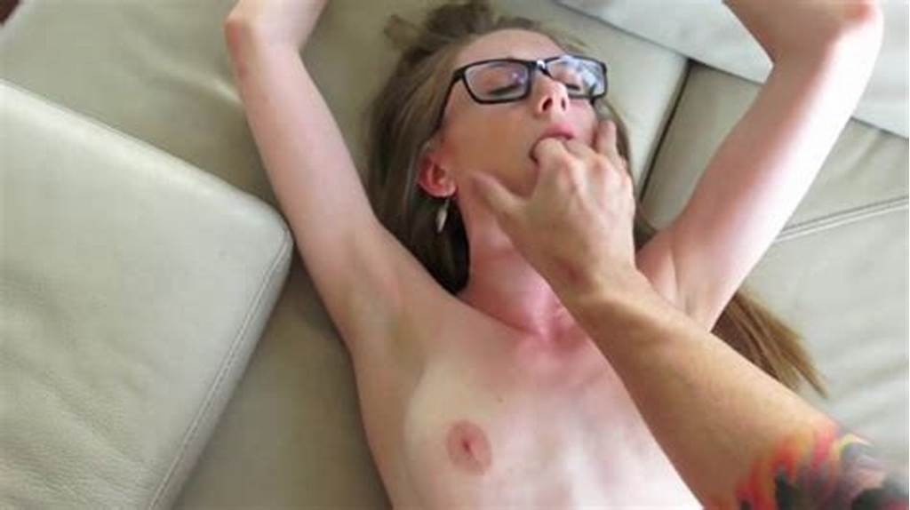 #Girl #With #Glasses #Jizzed #On #Face #After #A #Strong #Fuck