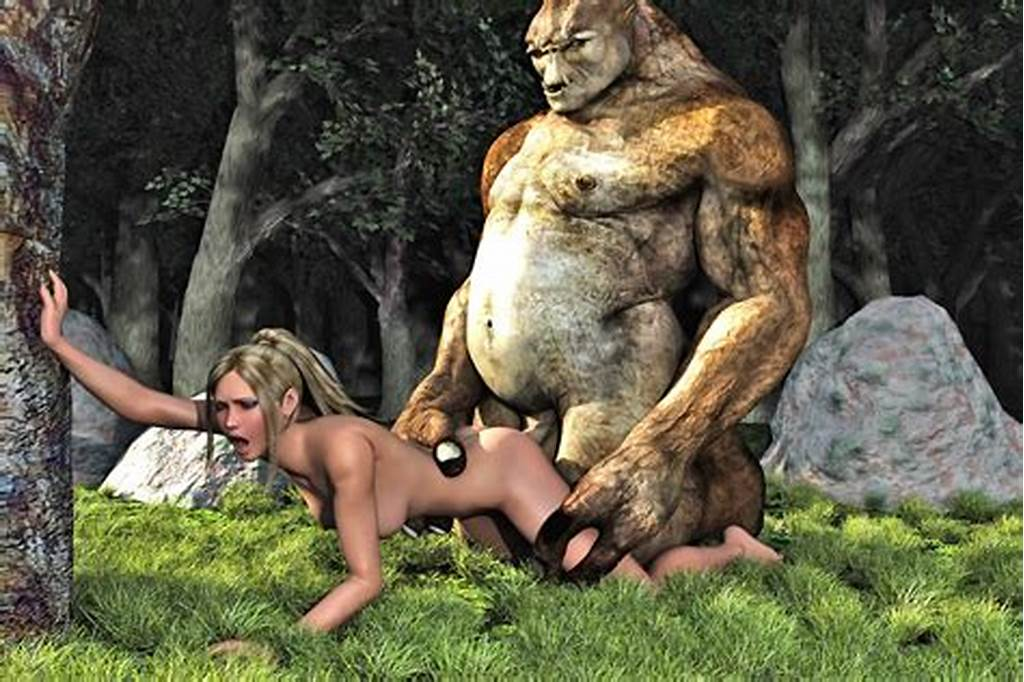 #Ogre #Hentai #Porn #With #Malicious #Monster #Humping #Cute #Babes