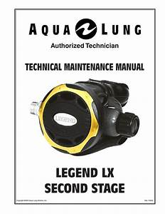 Aqua Lung Legend Lx Supreme Service Manual