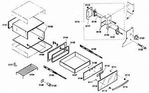 Bosch Hwd306uc  01 Warming Drawer Parts