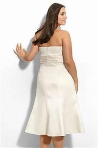 Robe Pour Femme Ronde : robe meringue bustier simple courte pour femme ronde ~ Nature-et-papiers.com Idées de Décoration