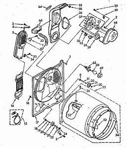Kenmore 11086874100 Dryer Parts