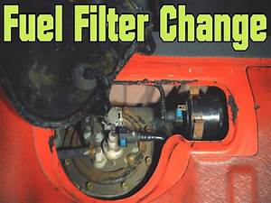 2005 Hyundai Accent Fuel Filter Location