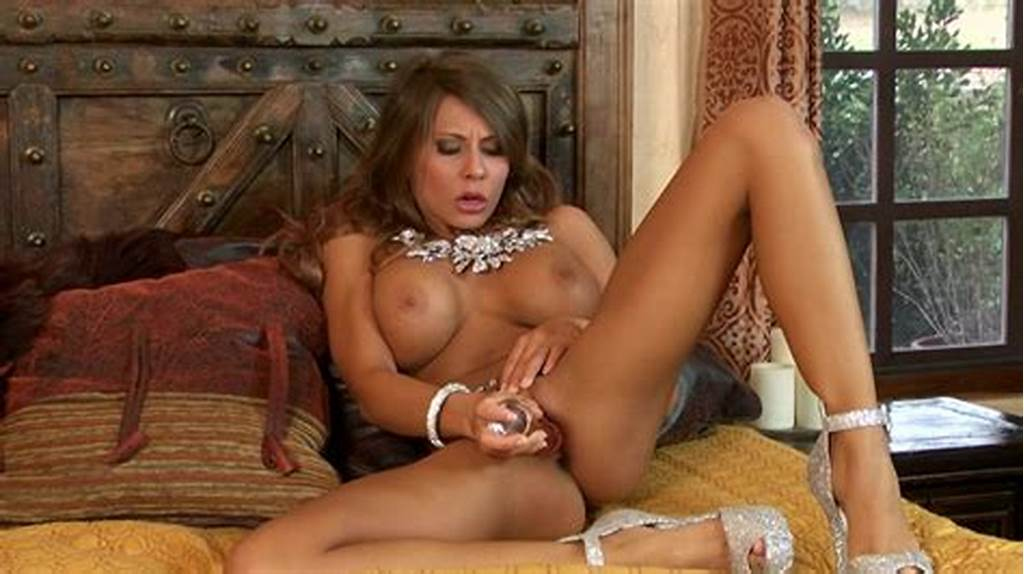 #Madison #Ivy #Is #Sucking #Tasty #Glass #Dildo
