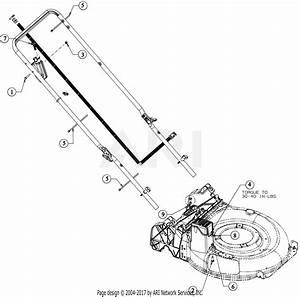 Troy Bilt 12aga2a6711 Tb 280 Es  2016  Parts Diagram For