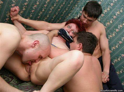 Euro Mommy Forced Her Handsome Force Mature