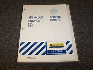 New Holland Td5030 Tractor Engine Workshop Shop Service