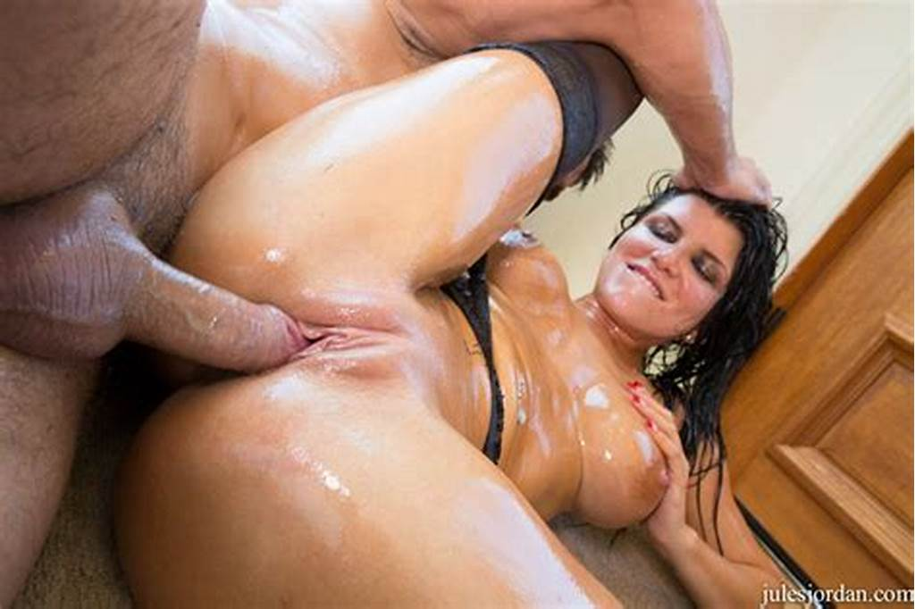 #Hot #Oiled #Bitch #Romi #Rain #Gets #Fucked #Rough