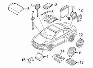 Volkswagen Eos Radio Amplifier  W  Dynaudio