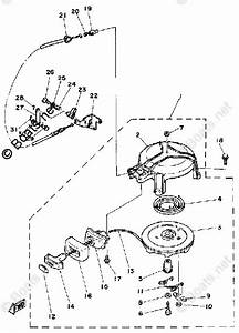 Yamaha Outboard Parts By Hp 4hp Oem Parts Diagram For