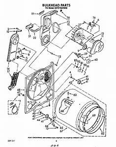 Kitchenaid Keye750vwh0 Dryer Parts