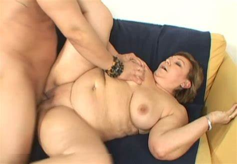 Old Granny Pounding Her Plump Stranger Lbfm Mother Behind Pounded